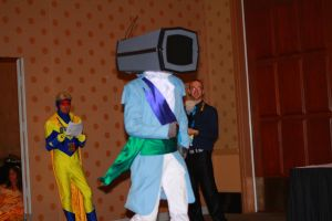 Rhode Island Comic Con 2013 - Prince Robot IV 1 by VideoGameStupid