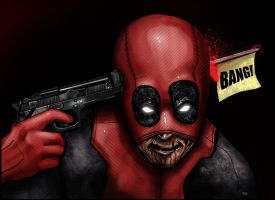 Deadpool Joke by HeroforPain