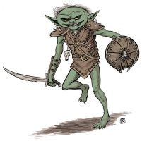Goblin 1 by Domigorgon