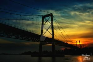 Barito Bridge by herryseptian