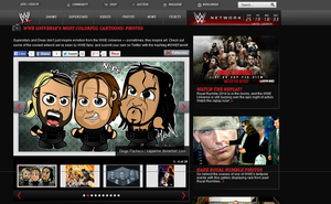 Chibi Wrestlers featured on WWE.com by kapaeme