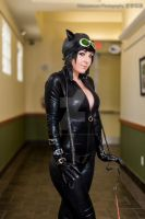 Jessica Nigri Catwoman by MasamunePhotography