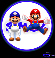 SMG4 and Mario by SuperBluey2749