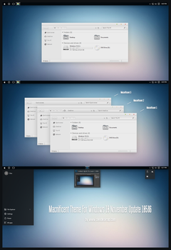 Macnificent Theme Win10 Build 10586 aka 1511 by Cleodesktop