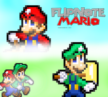 Flipnote Mario: The Movie - Poster by FaisalAden