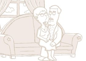 Mrs and Mr Pewterschmidt by forcecrush