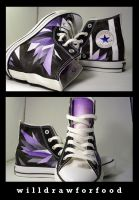 Polygon Wings Shoes by willdrawforfood