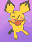 Prize: Pichu by keithharry