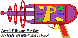Parade P-Balloon Ray-Gun by MarioBlade64