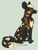 OC design for AssassianWolf1313 by Wynter-Heart