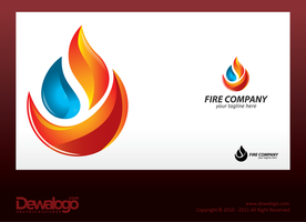 3d Logo Fire by dewaaaa