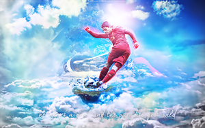 Luis Suarez is in Paradise by YuppoGFX
