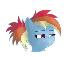 Rainbow Is Bored by AdamsSketches