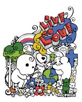 Live to Love Doodle Concept by eggay