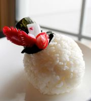 Queen of Hearts Fascinator Onigiri by mindfire3927