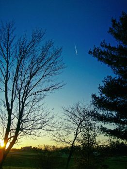 Shooting Star in the Daytime by InstantRamenInACup