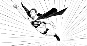 Superman by patoftherick