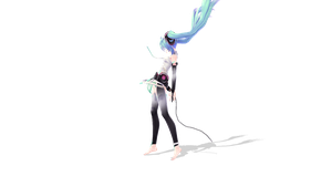 UPDATE: MIKU APPEND POSE by Sonic5780