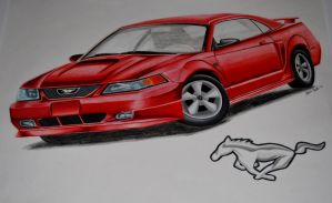 2003 Mustang GT by PunkIn-Kitty