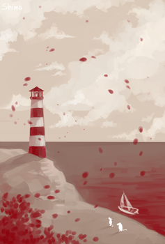 lighthouse by Gidrologium
