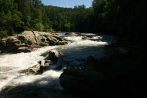 Bull Sluice River Stock by GloomWriter