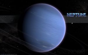 Cold Blue Neptune by streincorp