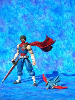 Strider Hiryu by Arloxjr