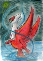 lullaby the latias by pitch-black-crow