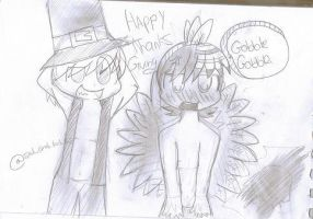 Happy late Thanksgiving by 2Foxy4you