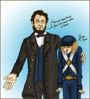 Did I mention, Mr. Lincoln.. by boscaresque