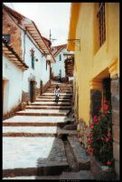 Paths in Cusco by ryath