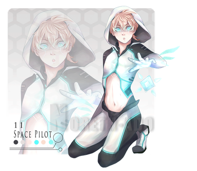 Space Pilot 11 Adopt Auction - CLOSED - by Noreth-Adopts