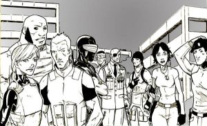 GI Joe renegades Line-art by lroyburch