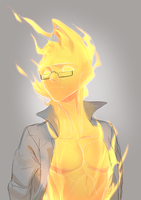 Grillby #3 by Meammy