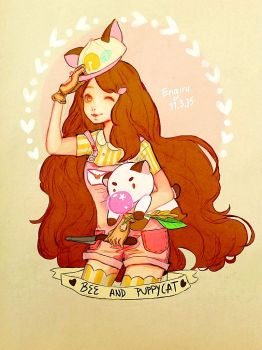 Bee and Puppycat ep.2 by Engiru