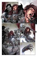 Witchblade #185 page 6 by panelgutter