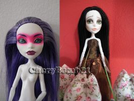 Custom Monster High Repaint Doll Spectra by cherrybomb-81