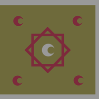 Flag - Marinid War Flag III by Akkismat
