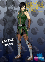 characters promos: Satele Shan by niniisolated