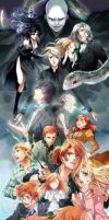 Harry Potter anime by phineaz