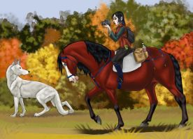 My Kind of Hunting by SolinaBright