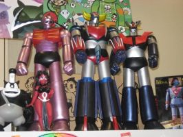 Grendizer and Other Mecha by granturismomh