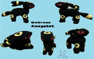 Umbreon (For Sale!!) by Amayakat
