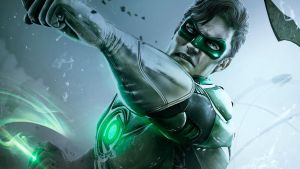 Steam Trading Card - Green Lantern by Limitus
