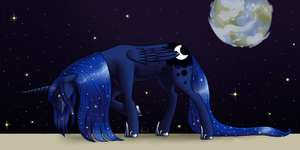 lost on the moon by Lantaniel