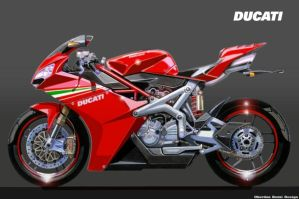 DUCATI R-Evolution by obiboi