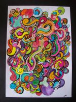 Colourflow in Mind I by Colourcake