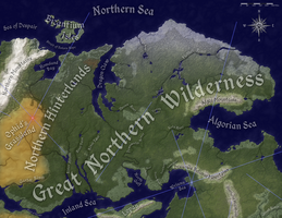 Great Northern Wilderness, Natural Geography by FeroceFV