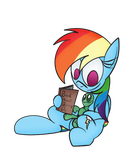 Tank And Dashie Reading Shit by Deadninja21