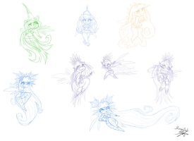Fairy Concepts - RaymanOrigins by Simina-Cindy